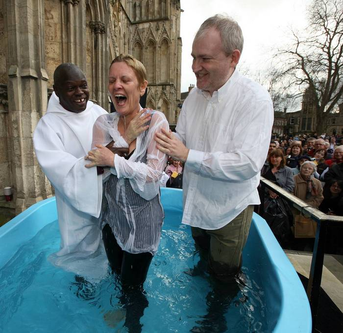 Adult Baptism - Church of England