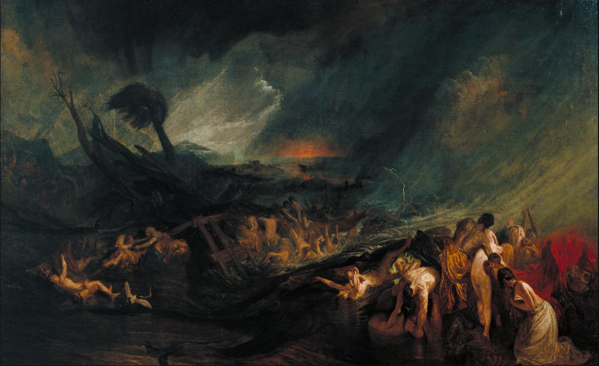 The Deluge by Turner